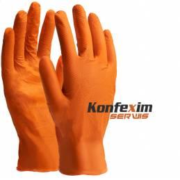 Rękawice nitrylowe ORANGE...