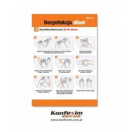 Instrukcja dezynfekcji rąk...